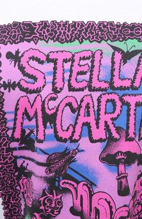 Мужская хлопковый лонгслив STELLA MCCARTNEY белого цвета, арт. 601816/SMP81 | Фото 5