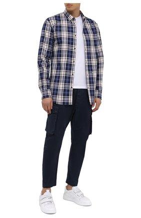 Мужская хлопковая рубашка DSQUARED2 разноцветного цвета, арт. S74DM0455/S53027 | Фото 2
