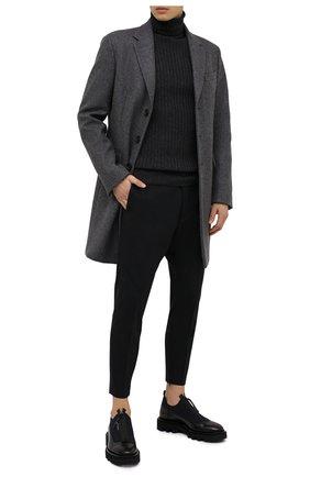 Мужской шерстяные брюки DSQUARED2 черного цвета, арт. S74KB0455/S40320 | Фото 2