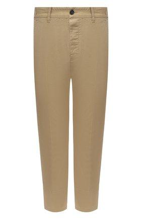 Мужской хлопковые брюки DSQUARED2 бежевого цвета, арт. S74KB0462/S39021 | Фото 1