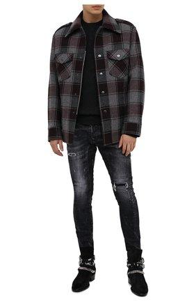 Мужские джинсы DSQUARED2 темно-серого цвета, арт. S74LB0827/S30357 | Фото 2
