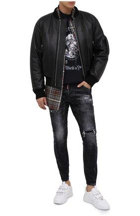 Мужские джинсы DSQUARED2 темно-серого цвета, арт. S74LB0827/S30357 | Фото 3