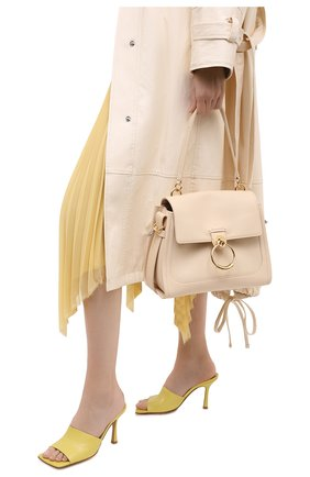 Женская сумка tess day small CHLOÉ бежевого цвета, арт. CHC20AS142C62   Фото 2
