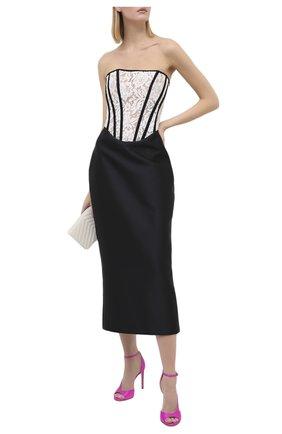 Женское платье RASARIO черно-белого цвета, арт. 0087W20_12   Фото 2