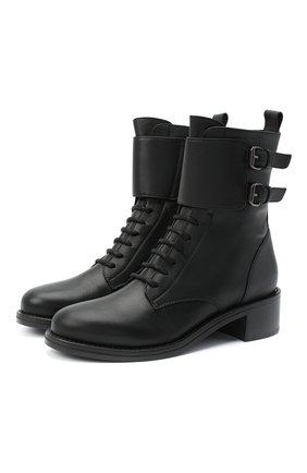 Кожаные ботинки Jessi | Фото №1