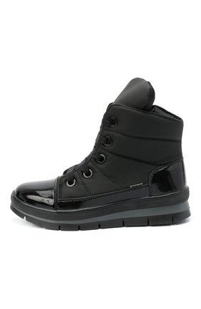 Женские текстильные ботинки JOG DOG черного цвета, арт. 14007R/DR_ZAFFIR0SIGMA/W   Фото 3