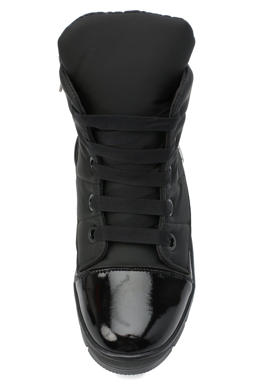 Женские текстильные ботинки JOG DOG черного цвета, арт. 14007R/DR_ZAFFIR0SIGMA/W   Фото 5