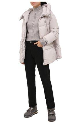 Женские текстильные ботинки JOG DOG серебряного цвета, арт. 14039R/DR_TU0N0BALTIC0/W | Фото 2