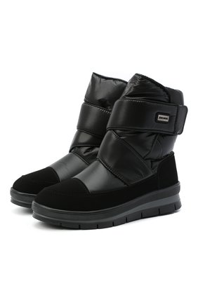 Женские текстильные ботинки JOG DOG черного цвета, арт. 14069R/TU0N0BALTIC0/W | Фото 1