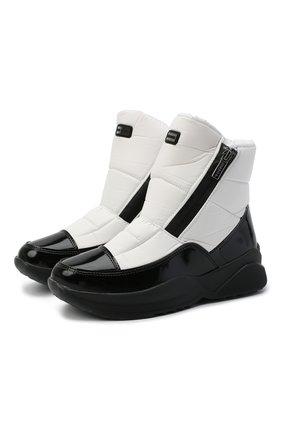 Женские текстильные ботинки JOG DOG белого цвета, арт. 1623R/DR_ZAFFIR0BALTIC0/W | Фото 1