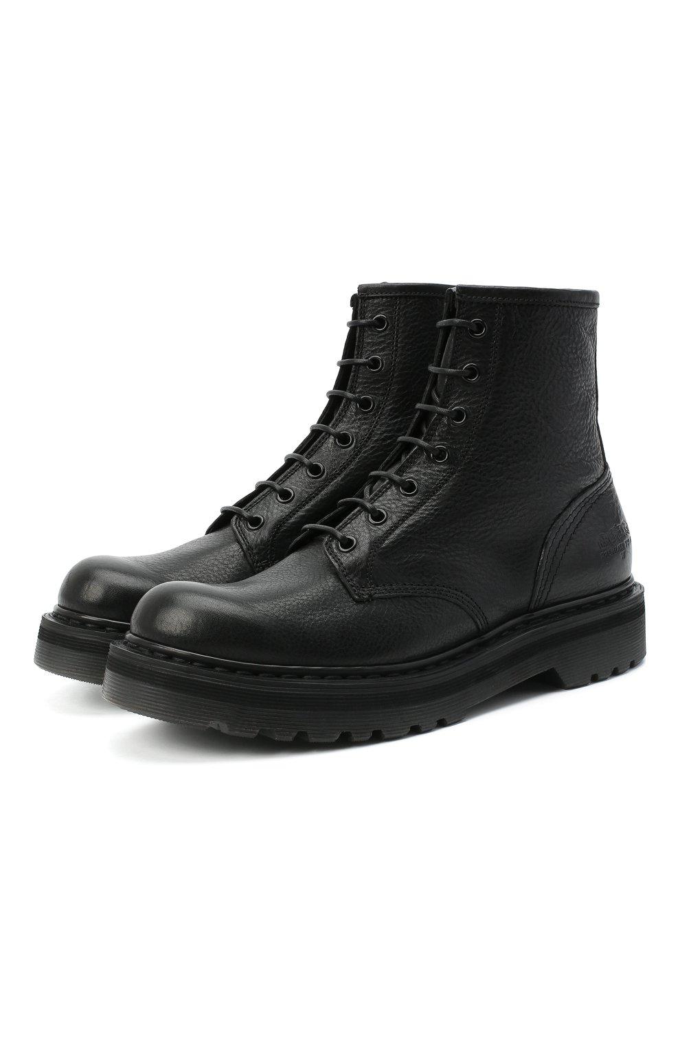 Женские кожаные ботинки PREMIATA черного цвета, арт. M4973/V0LANAT0 | Фото 1