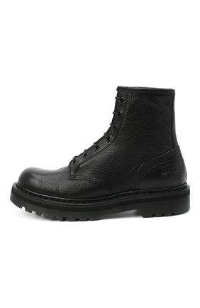 Женские кожаные ботинки PREMIATA черного цвета, арт. M4973/V0LANAT0 | Фото 3