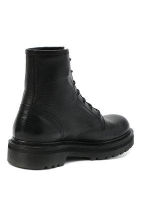 Женские кожаные ботинки PREMIATA черного цвета, арт. M4973/V0LANAT0 | Фото 4