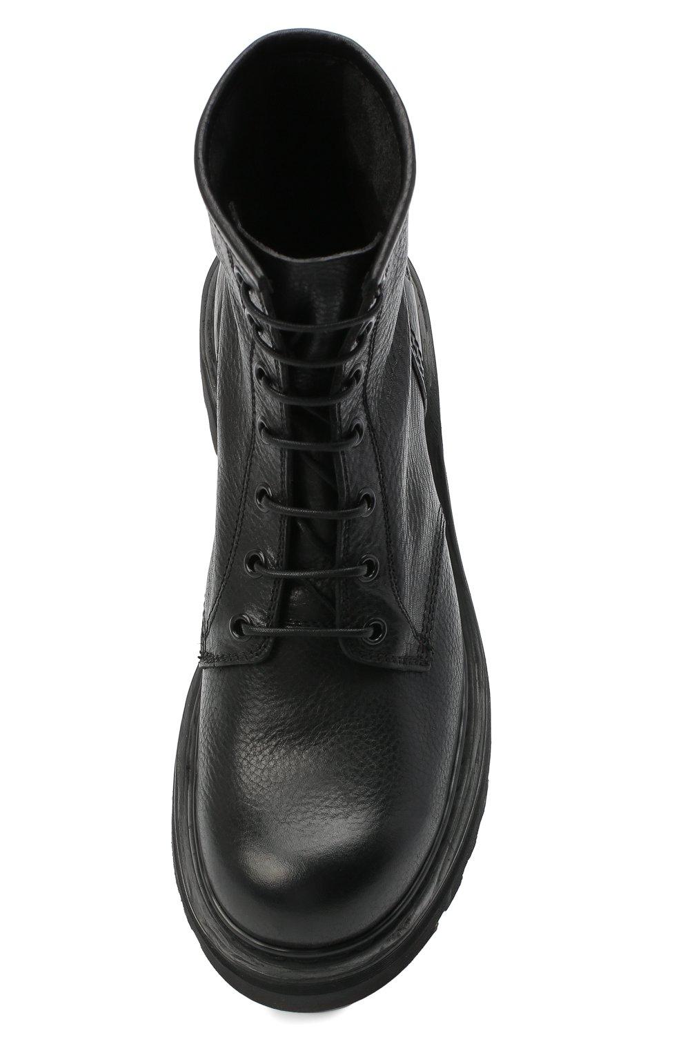 Женские кожаные ботинки PREMIATA черного цвета, арт. M4973/V0LANAT0 | Фото 5