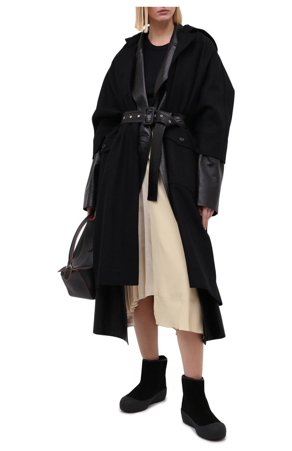 Женские замшевые ботинки guard ii BALLY черного цвета, арт. GUARD II L-NEW/20   Фото 2