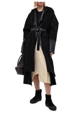 Женские замшевые ботинки guard ii BALLY черного цвета, арт. GUARD II L-NEW/20 | Фото 2