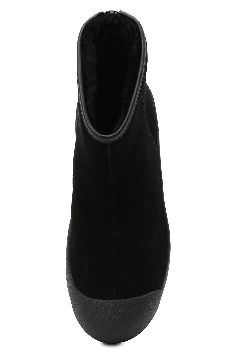Женские замшевые ботинки guard ii BALLY черного цвета, арт. GUARD II L-NEW/20   Фото 5