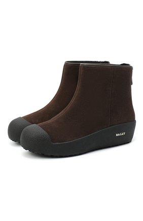 Замшевые ботинки Guard II | Фото №1