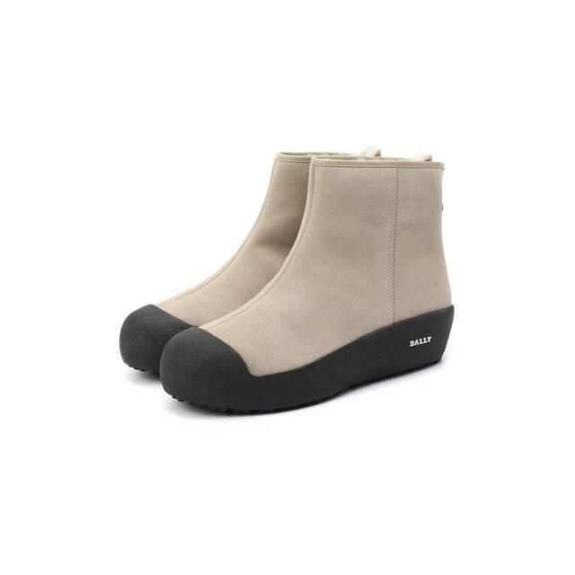 Замшевые ботинки Guard II Bally