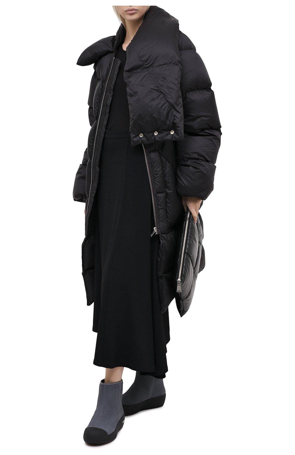 Женские замшевые ботинки guard ii BALLY серого цвета, арт. GUARD II L-NEW/25 | Фото 2