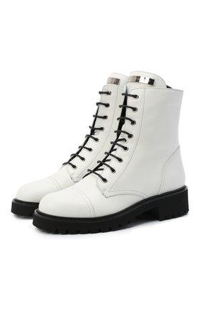 Кожаные ботинки Thora | Фото №1