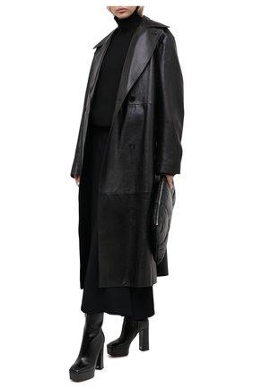 Женские кожаные ботильоны morgana GIUSEPPE ZANOTTI DESIGN черного цвета, арт. I070012/001 | Фото 2