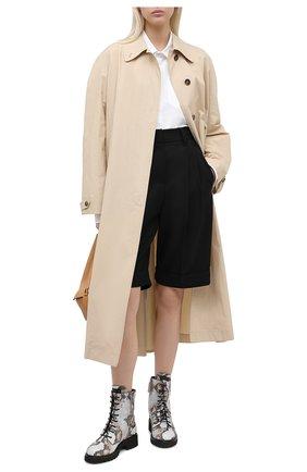 Женские кожаные ботинки GIUSEPPE ZANOTTI DESIGN серого цвета, арт. I070035/002 | Фото 2