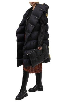 Женские кожаные сапоги GIUSEPPE ZANOTTI DESIGN черного цвета, арт. I080004/002   Фото 2