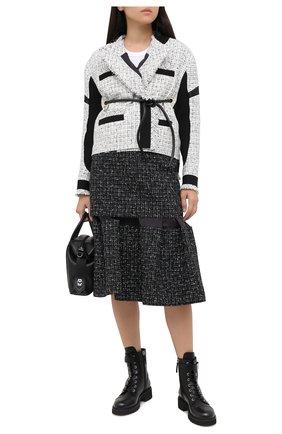 Женские кожаные ботинки alexa GIUSEPPE ZANOTTI DESIGN черного цвета, арт. I970002/012 | Фото 2