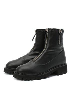 Женские ботинки avice GIUSEPPE ZANOTTI DESIGN черного цвета, арт. I970020/001 | Фото 1
