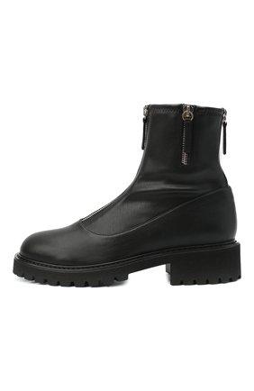 Женские ботинки avice GIUSEPPE ZANOTTI DESIGN черного цвета, арт. I970020/001 | Фото 3
