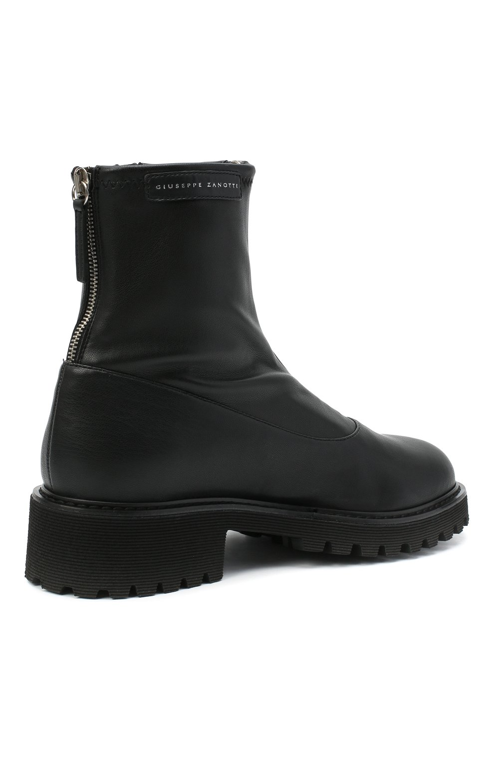 Женские ботинки avice GIUSEPPE ZANOTTI DESIGN черного цвета, арт. I970020/001 | Фото 4