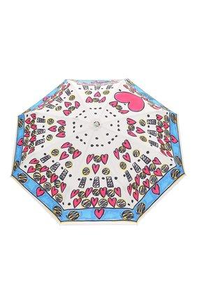 Женский складной зонт MOSCHINO разноцветного цвета, арт. 7027-0PENCL0SE | Фото 1