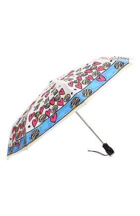 Женский складной зонт MOSCHINO разноцветного цвета, арт. 7027-0PENCL0SE | Фото 2