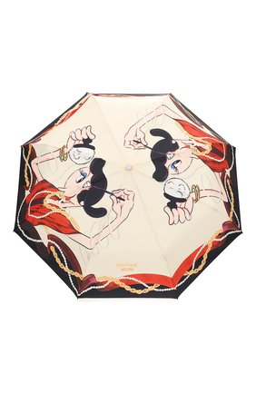 Женский складной зонт MOSCHINO кремвого цвета, арт. 7950-0PENCL0SE | Фото 1