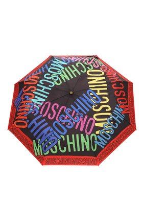 Женский складной зонт MOSCHINO разноцветного цвета, арт. 8011-0PENCL0SE | Фото 1