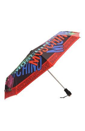 Женский складной зонт MOSCHINO разноцветного цвета, арт. 8011-0PENCL0SE | Фото 2
