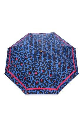 Женский складной зонт MOSCHINO синего цвета, арт. 8013-0PENCL0SE | Фото 1