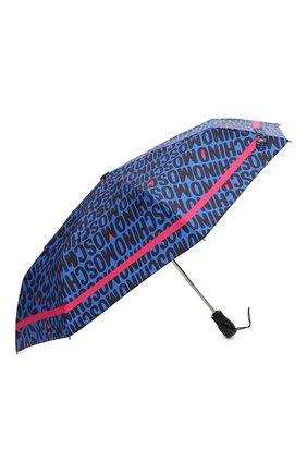Женский складной зонт MOSCHINO синего цвета, арт. 8013-0PENCL0SE | Фото 2