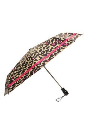 Женский складной зонт MOSCHINO бежевого цвета, арт. 8013-0PENCL0SE | Фото 2