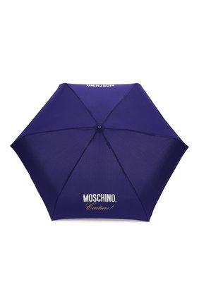 Женский складной зонт MOSCHINO синего цвета, арт. 8014-SUPERMINI | Фото 1