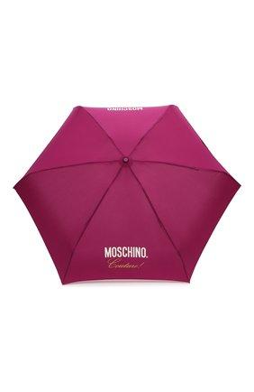 Женский складной зонт MOSCHINO бордового цвета, арт. 8014-SUPERMINI | Фото 1