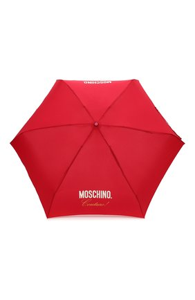 Женский складной зонт MOSCHINO красного цвета, арт. 8014-SUPERMINI | Фото 1