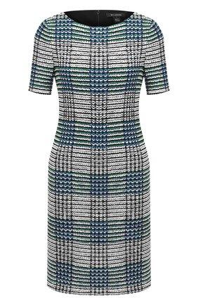 Женское платье ST. JOHN синего цвета, арт. K1100F1 | Фото 1
