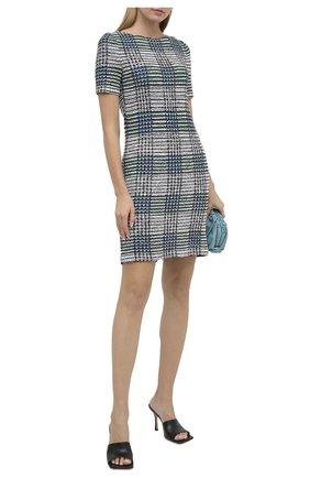 Женское платье ST. JOHN синего цвета, арт. K1100F1 | Фото 2