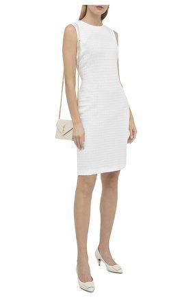 Женское платье ST. JOHN белого цвета, арт. K11Z013 | Фото 2