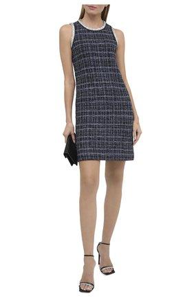 Женское платье ST. JOHN синего цвета, арт. K1200C1 | Фото 2