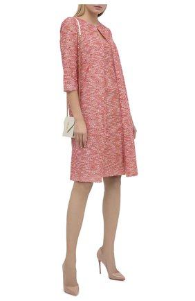 Женское платье ST. JOHN розового цвета, арт. K12Z003 | Фото 2