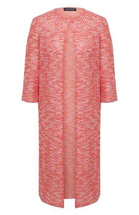 Женское пальто ST. JOHN розового цвета, арт. K62Z033 | Фото 1