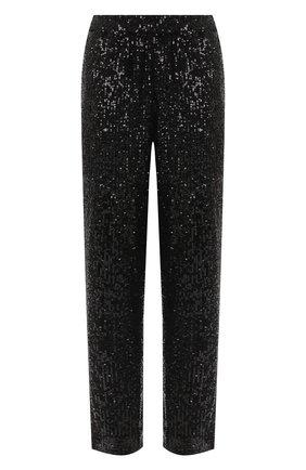 Женские брюки с пайетками ST. JOHN черного цвета, арт. K820WT1   Фото 1